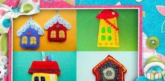 Мастер-класс «Шитые домики из фетра»