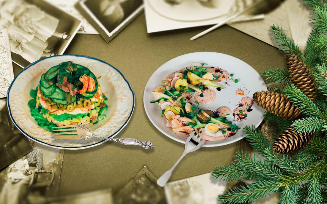 Как менялся салат оливье на протяжении 150 лет: от 1862 года до наших дней