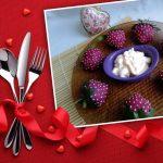 Рецепт закуски из сельди «Клубничка»