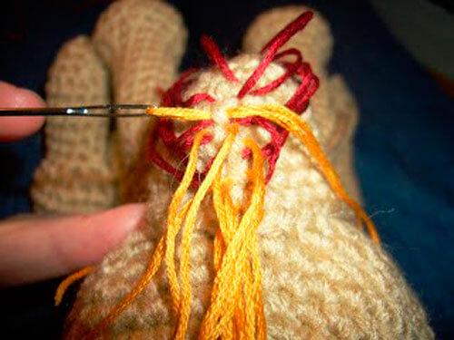 Йоркширский терьер, вязанный крючком – мастер-класс