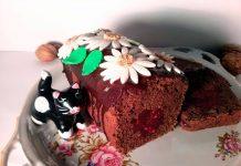 Кекс на тёмном пиве с вишневым мармеладом – пошаговый рецепт с фото