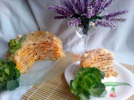 Капустный торт «Наполеон» - пошаговый рецепт овощной закуски с фотографиями