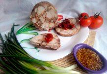 Рецепт домашней куриной ветчины
