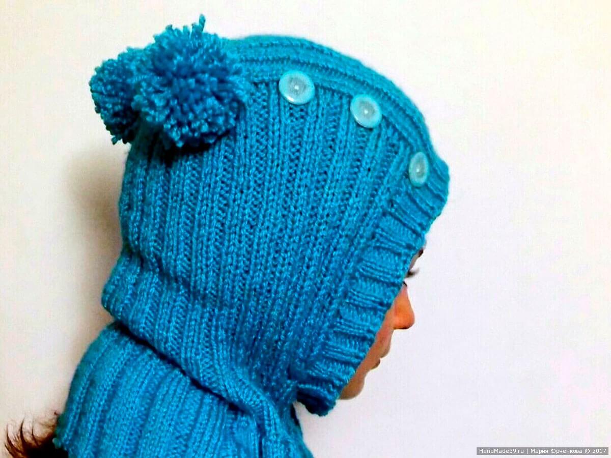 Шлем шапка детская мастер класс инструкция #1