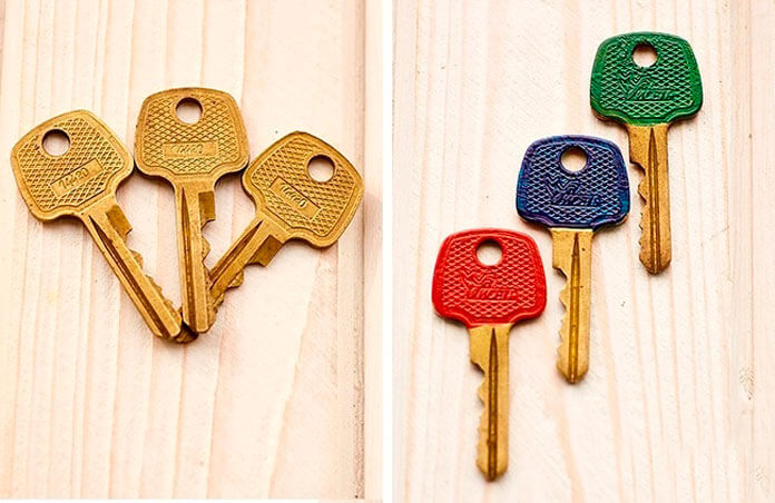 Как не перепутать ключи