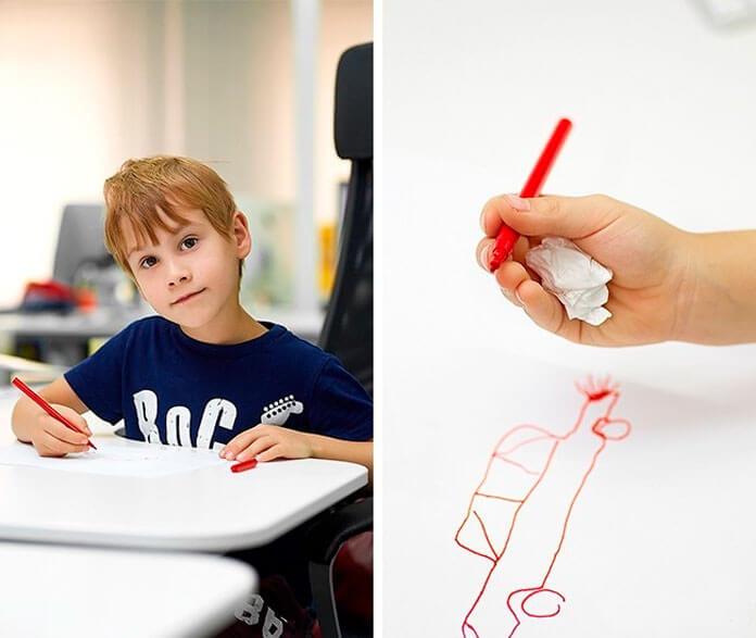 Как научить ребёнка правильно держать ручку