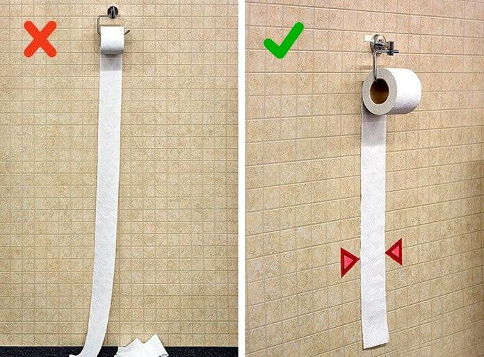 Как научить использовать нужное количество туалетной бумаги