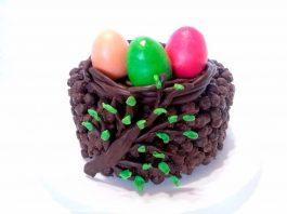 Пасхальный торт из шоколадных шариков – пошаговый рецепт с фото