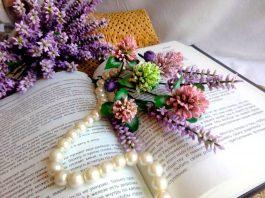 Клевер из фоамирана – мастер-класс по изготовлению цветов своими руками