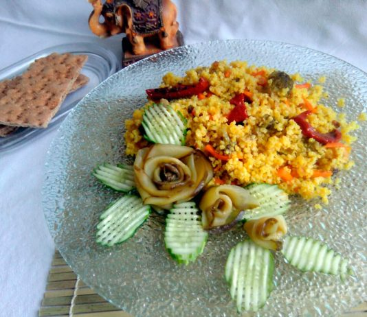 Постная каша с овощами – универсальный пошаговый рецепт с фото