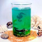 Желе «Море» с шоколадными фигурками – пошаговый рецепт с фото