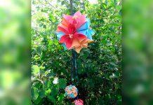 Как сделать цветок оригами - мастер-класс по созданию из бумаги цветка и декоративного шара с пошаговыми фото