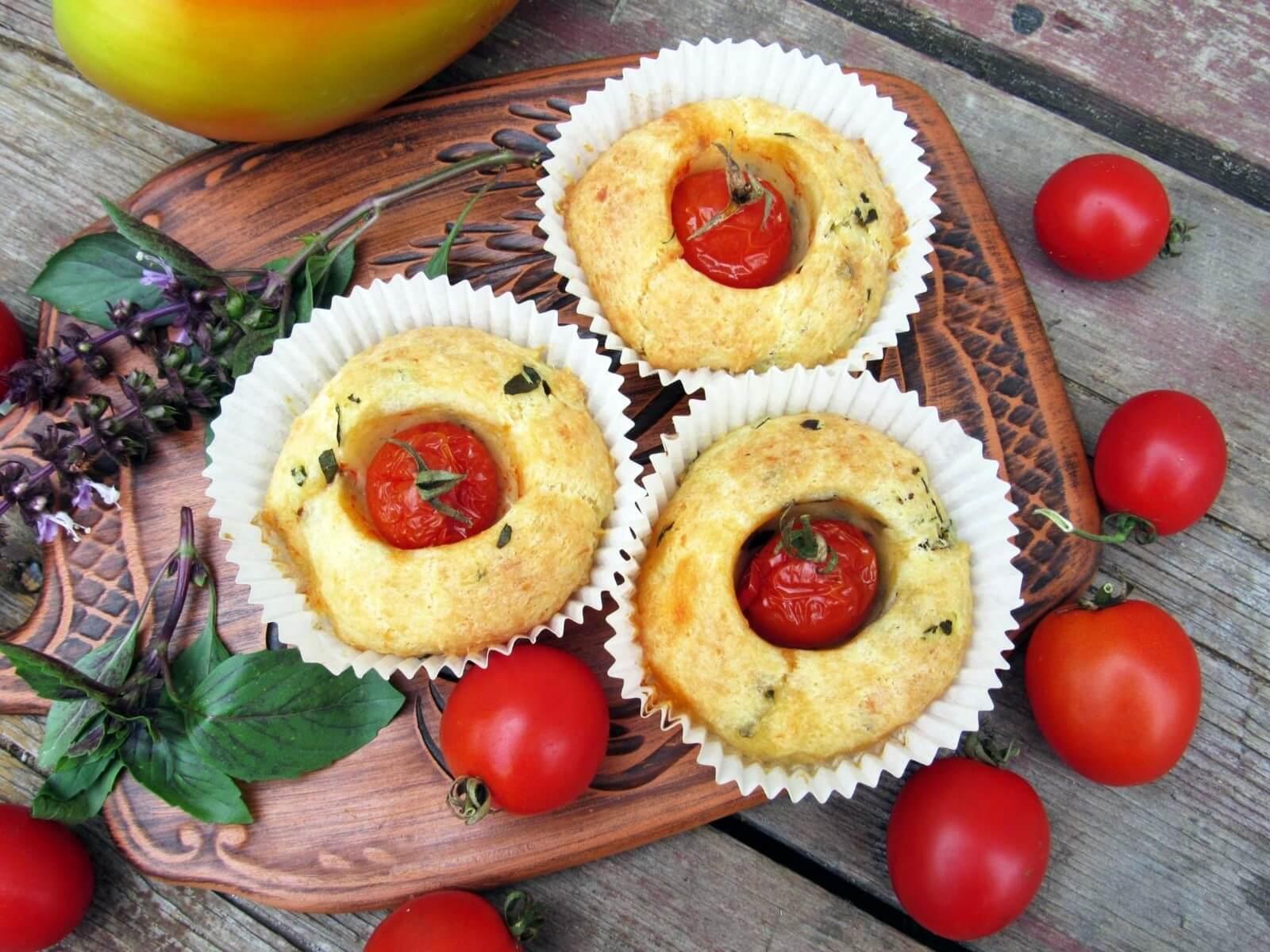Несладкие кексы рецепт с фото