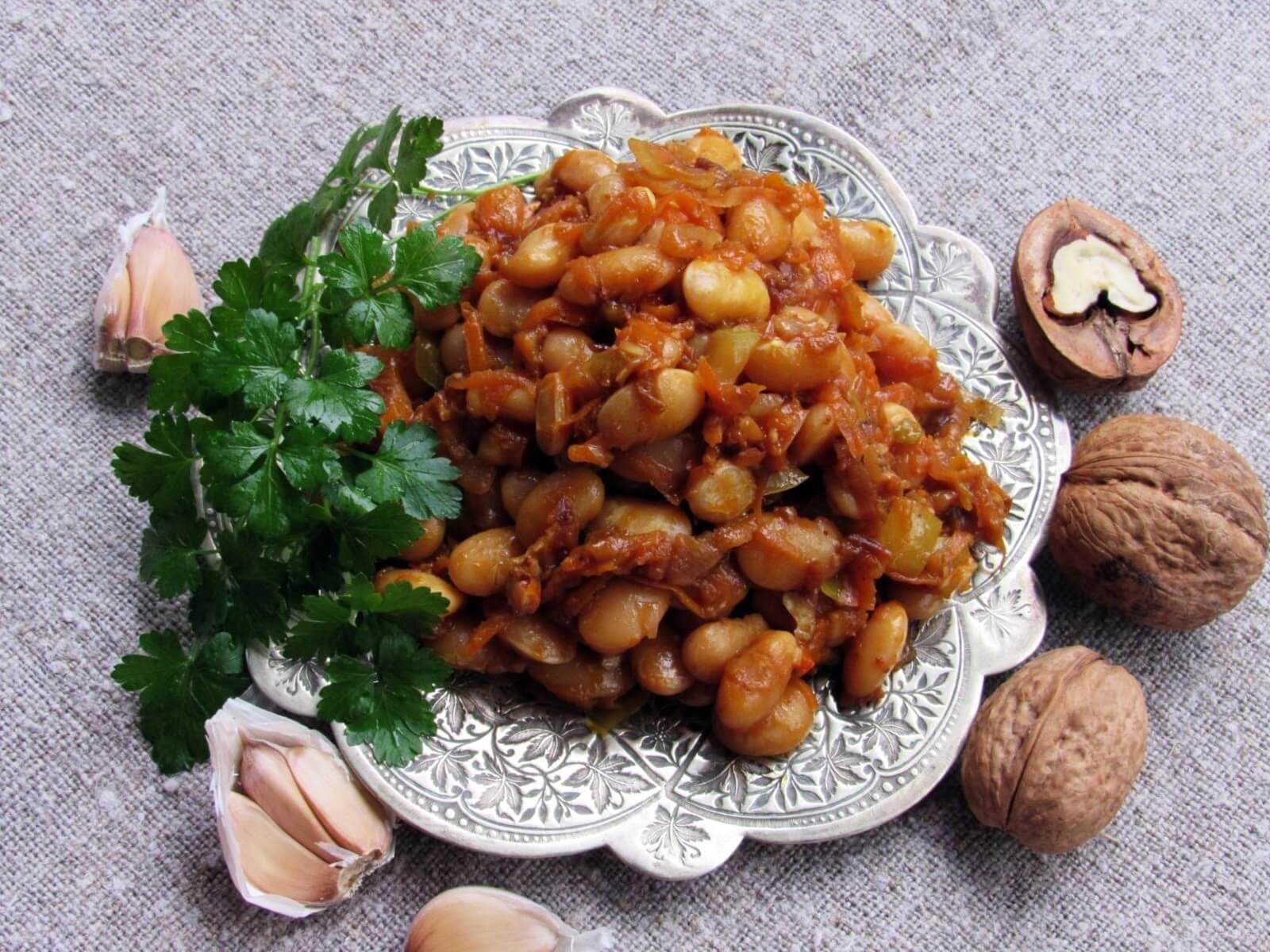 Грузинские блюда из фасоли рецепты