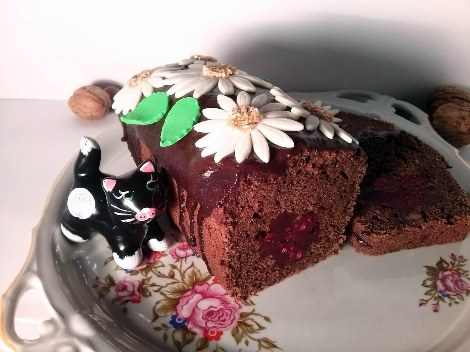 Как сделать кекс с джемом