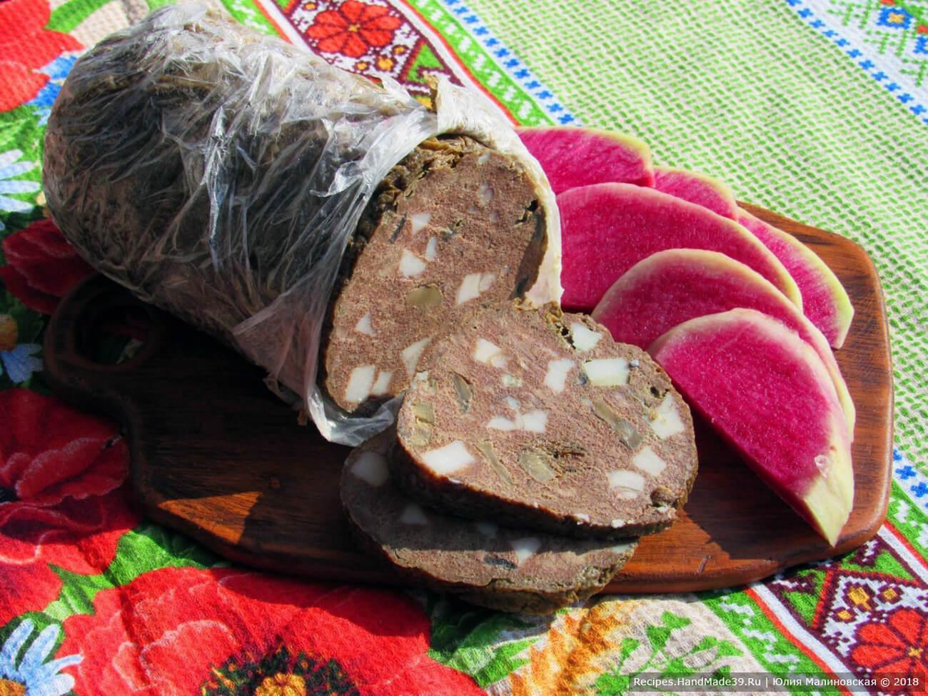 Зельц из свиной головы в домашних условиях рецепт пошагово