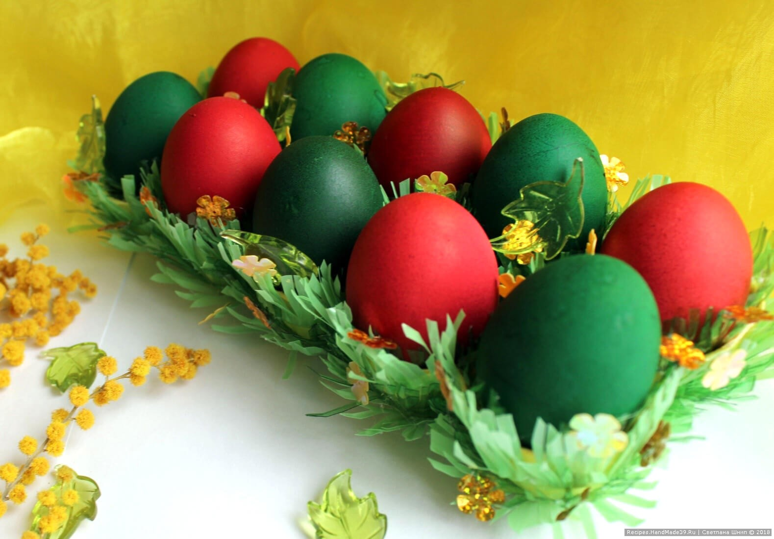 Подставка для пасхальных яиц своими руками, мастер-класс ...