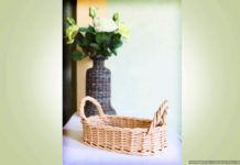 Плетёная хлебница – как сплести корзину из газетных трубочек, мастер-класс