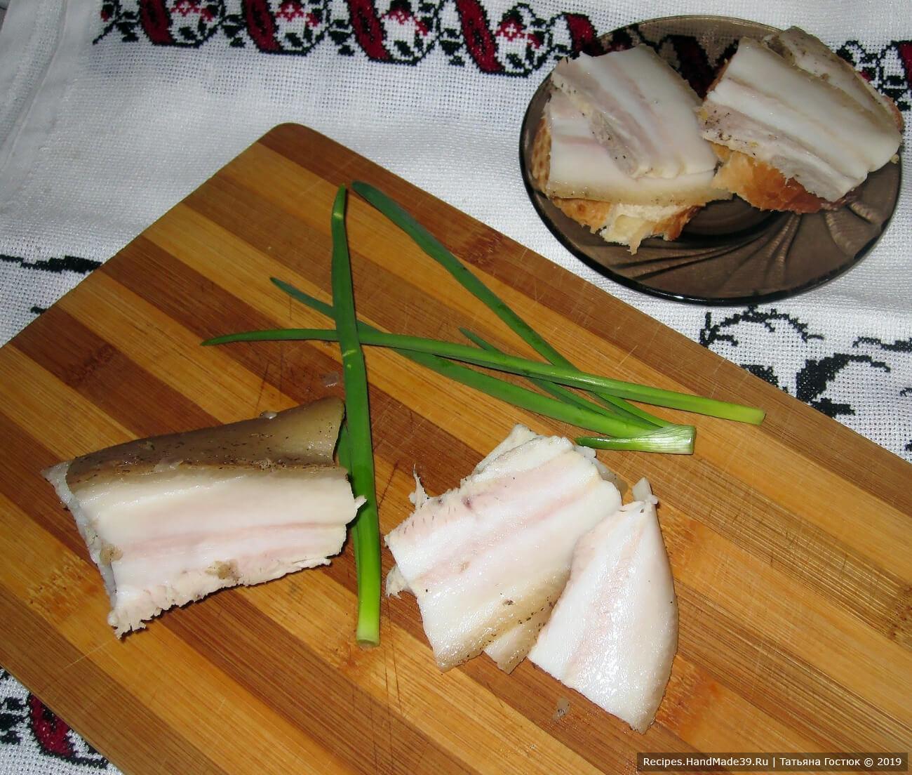 Варёное сало в маринаде – пошаговый кулинарный рецепт с фото