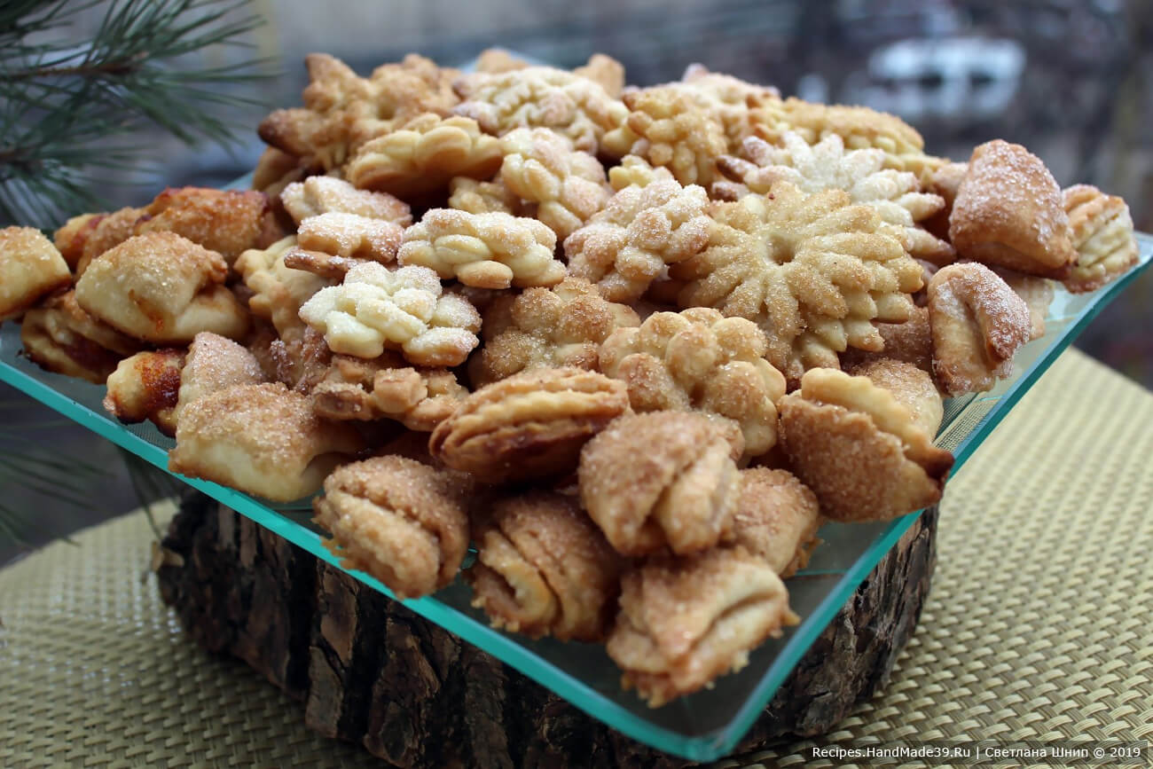 Печенье из творога «Ассорти»