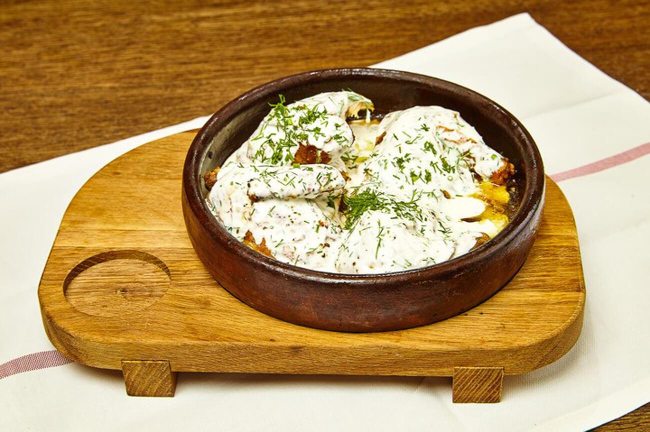 Цыплёнок по-грузински – пошаговый кулинарный рецепт с фото