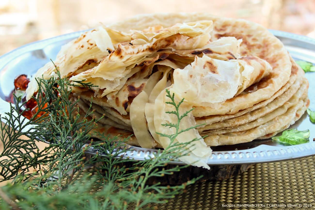 Катлама узбекская – пошаговый кулинарный рецепт с фото