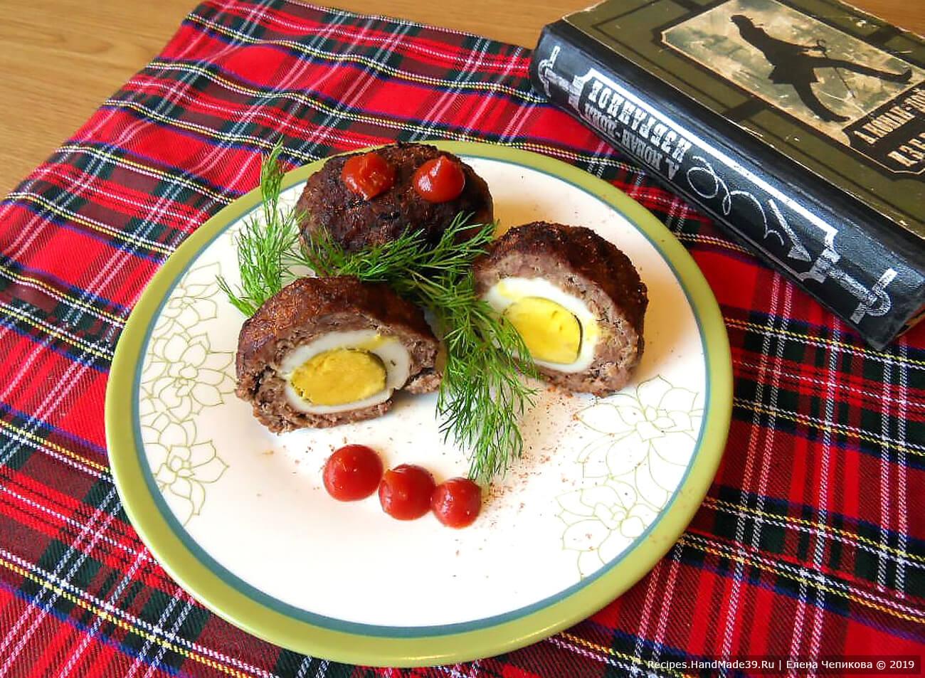 Яйца по-шотландски – пошаговый кулинарный рецепт с фото