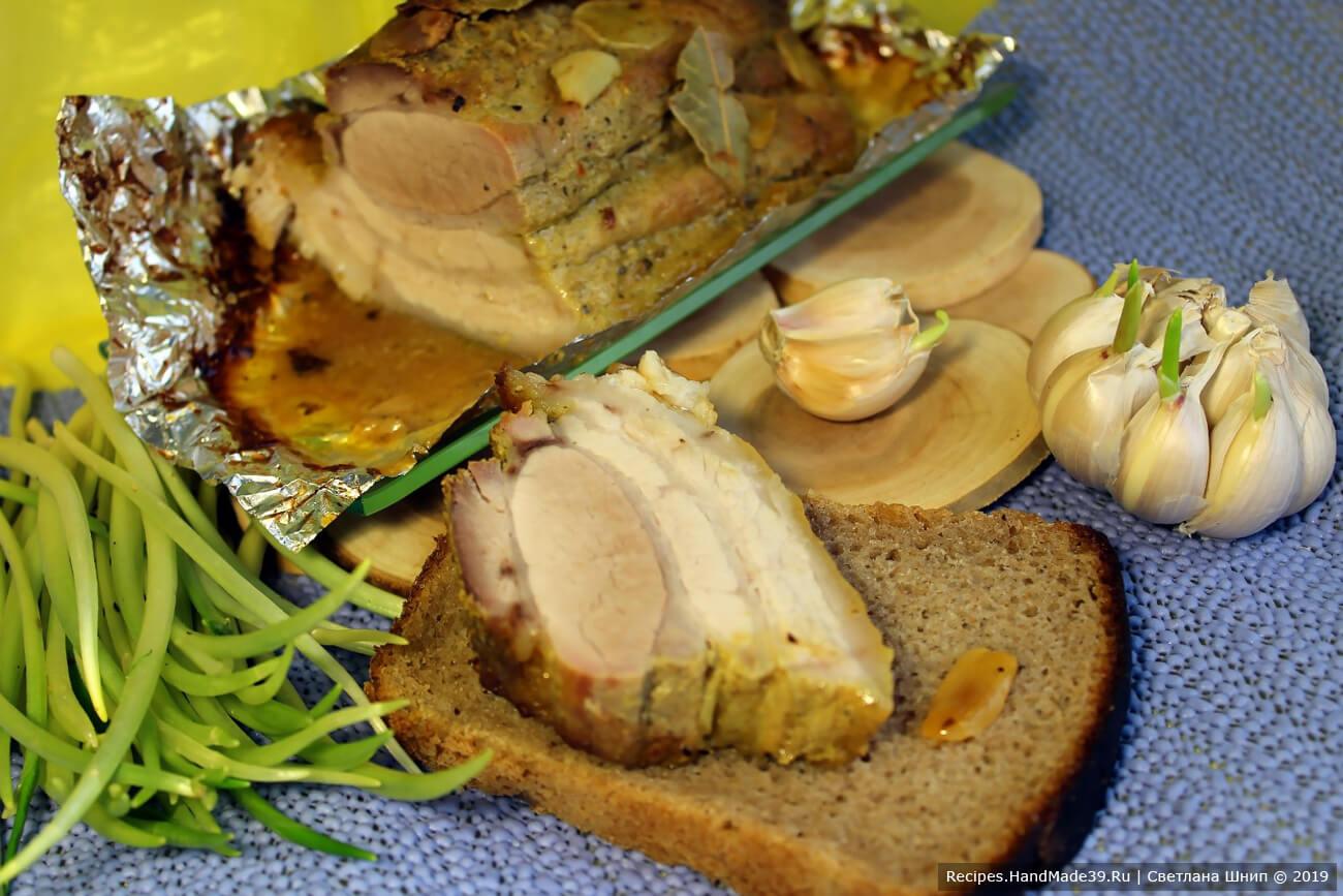 Свиные рёбра без костей, запечённые в горчице – пошаговый рецепт с фото