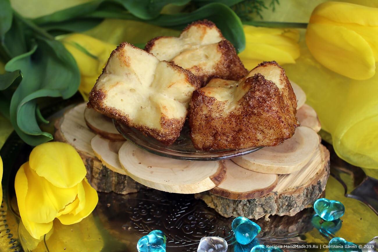 Карамельные булочки «Тюльпаны» – пошаговый кулинарный рецепт с фото