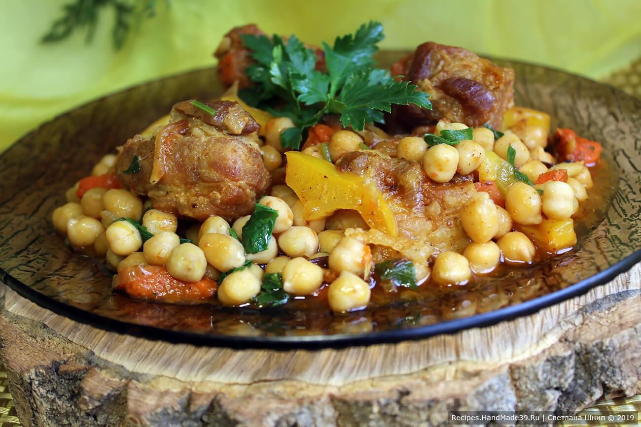 Гуштнут – нут с мясом и овощами – пошаговый кулинарный рецепт с фото