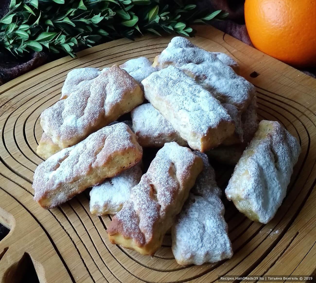 Простое творожное печенье – пошаговый кулинарный рецепт с фото