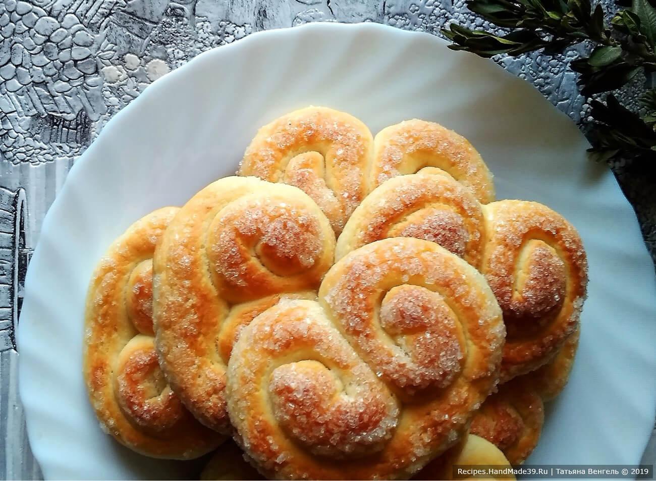 Творожное печенье «Кральки» – пошаговый кулинарный рецепт с фото