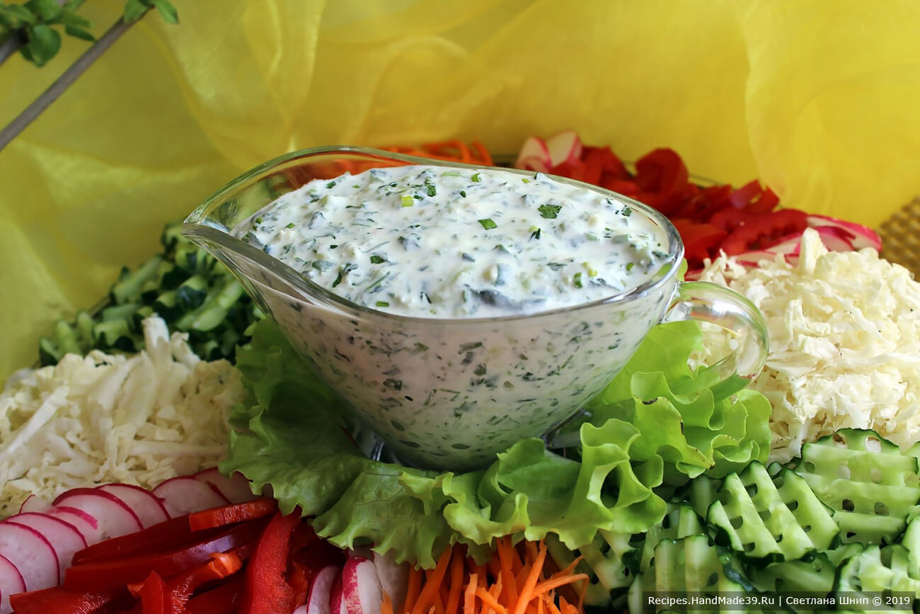 Греческий соус дзадзики – пошаговый кулинарный рецепт с фото
