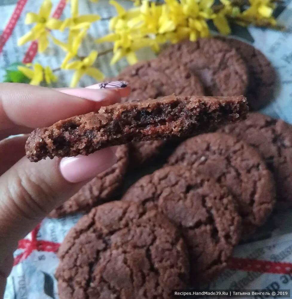 Шоколадное печенье с мёдом – пошаговый кулинарный рецепт с фото