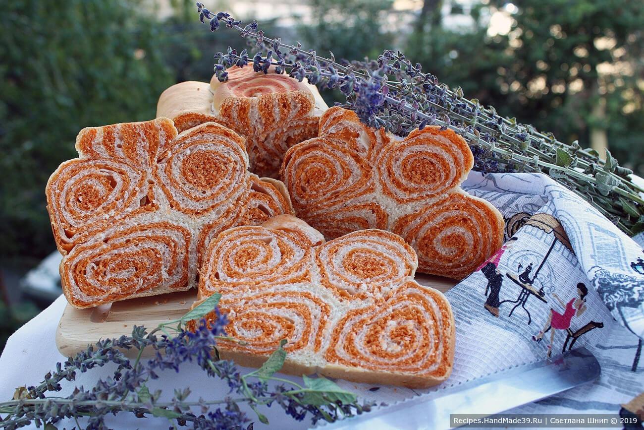 Хлеб «Рыжая завитушка» – пошаговый кулинарный рецепт с фото