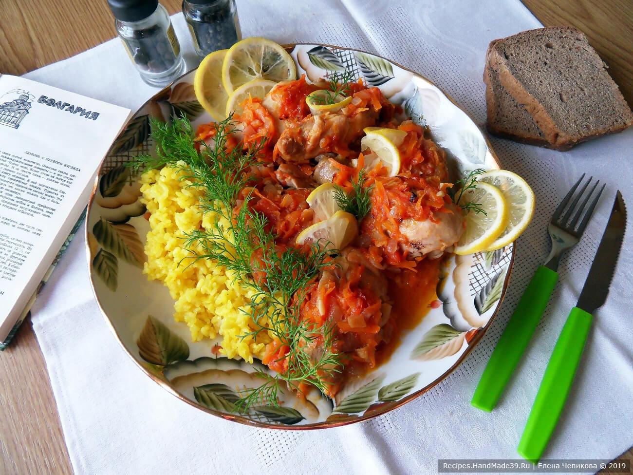 Цыплёнок-плакия – пошаговый кулинарный рецепт с фото