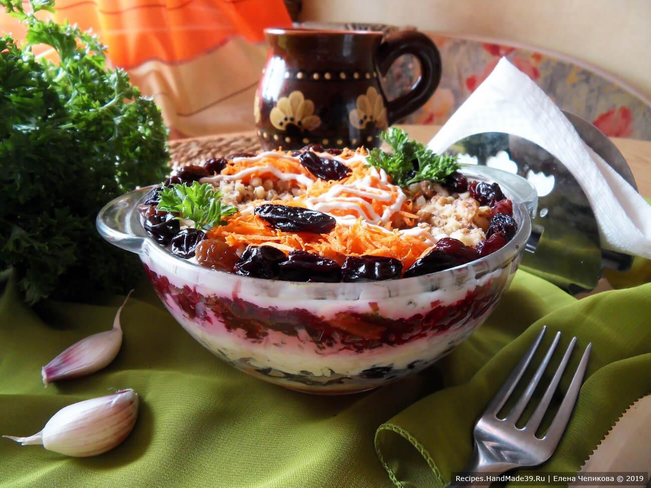Овощной салат «Здоровье» – пошаговый кулинарный рецепт с фото