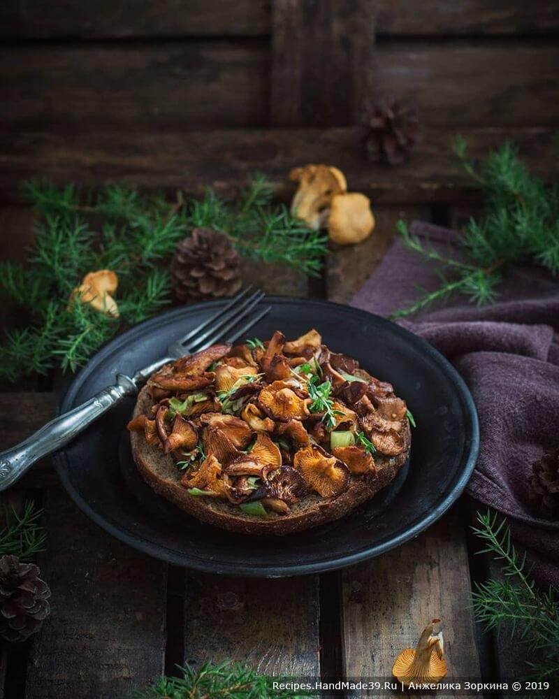 Вкусные жареные лисички: секрет приготовления – пошаговый рецепт