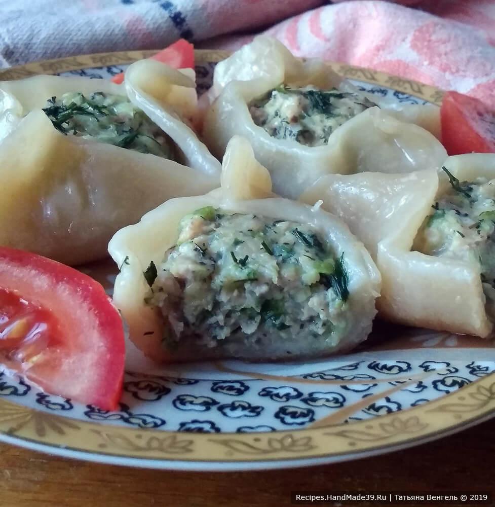 Открытые пельмени – пошаговый кулинарный рецепт с фото