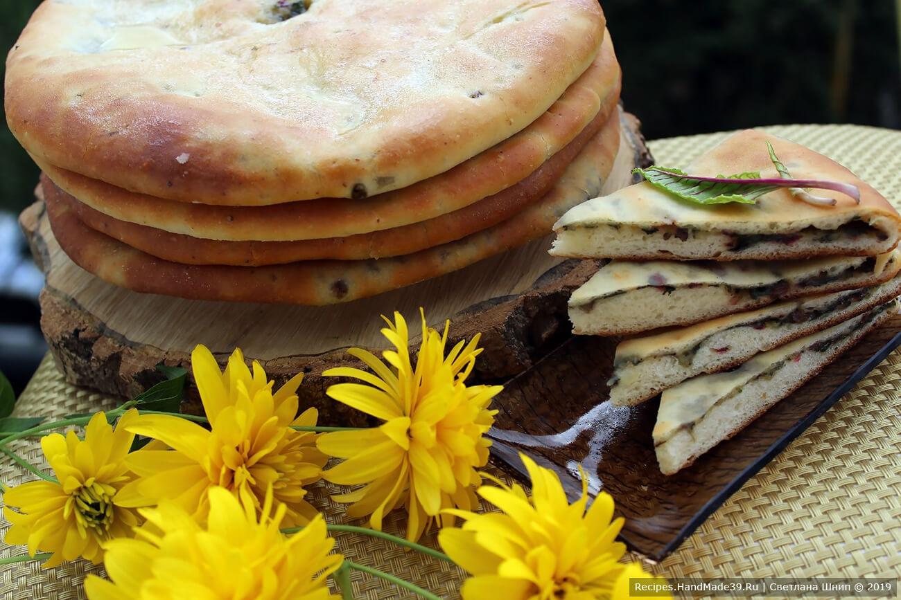 Осетинские пироги – пошаговый кулинарный рецепт с фото