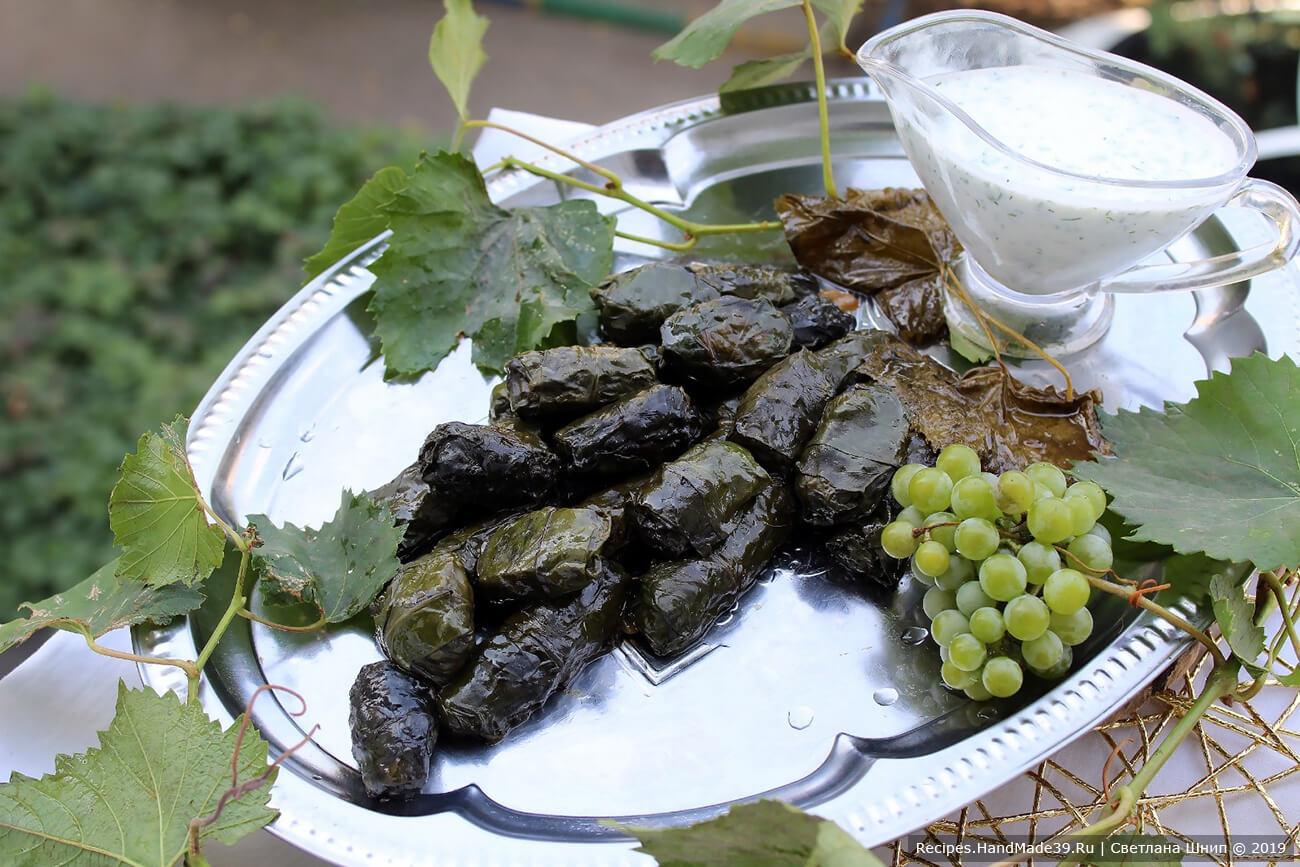 Долма из свекольных листьев – пошаговый кулинарный рецепт с фото