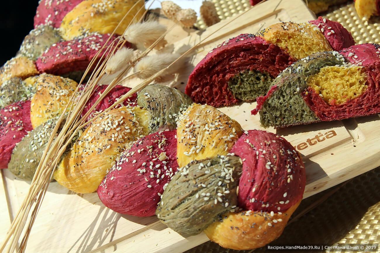 Хлеб «Светофор» – пошаговый кулинарный рецепт с фото