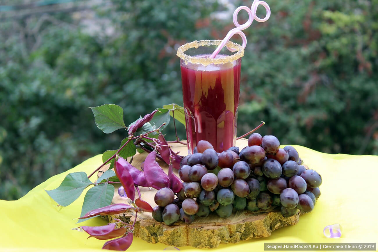 Кисель из винограда – пошаговый кулинарный рецепт с фото