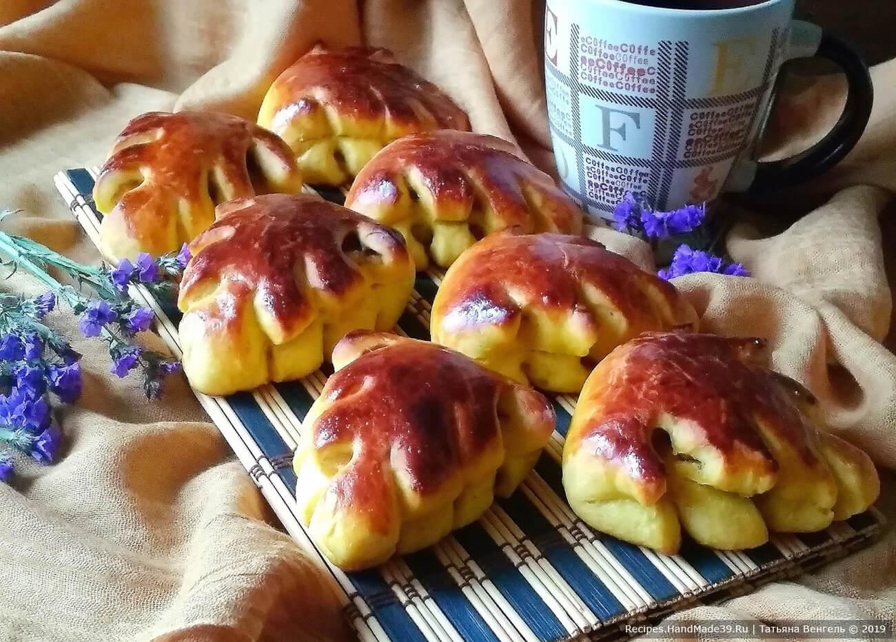 Булочки с тыквой и яблоками – пошаговый кулинарный рецепт с фото