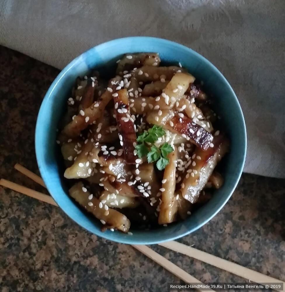 Баклажаны по-китайски – пошаговый кулинарный рецепт с фото