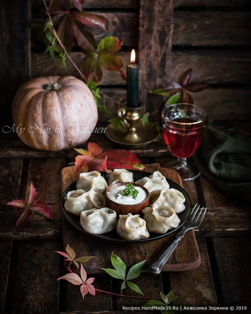 Как лепить манты с тыквой – пошаговый кулинарный рецепт с фото