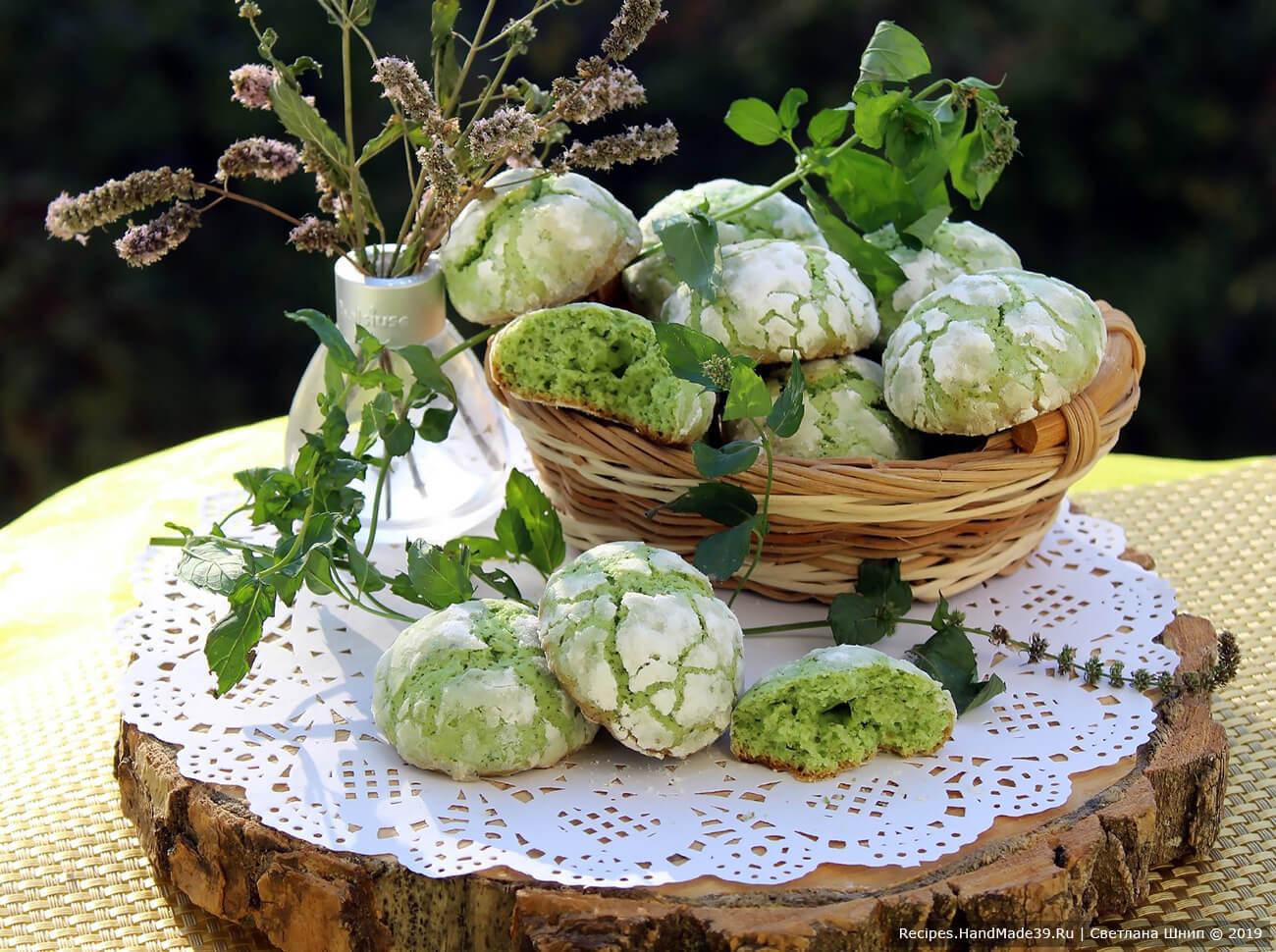 Печенье с трещинками – пошаговый кулинарный рецепт с фото