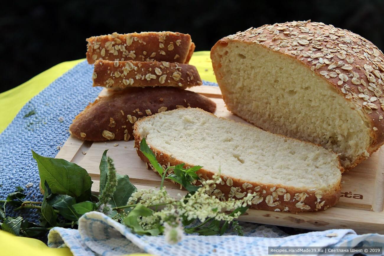 Хлеб с овсянкой – пошаговый кулинарный рецепт с фото