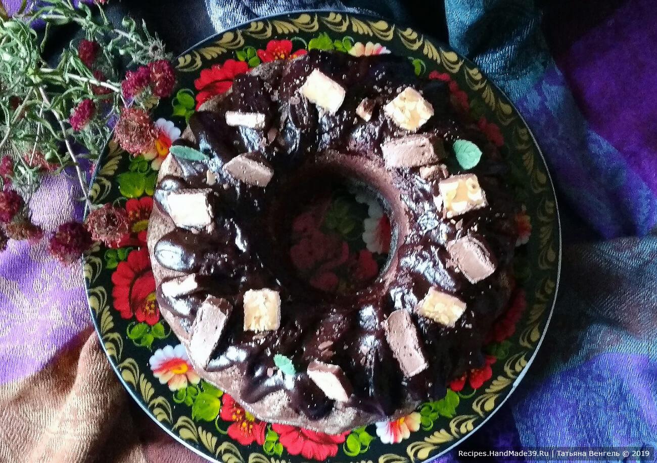 Сочный шоколадный кекс – пошаговый кулинарный рецепт с фото