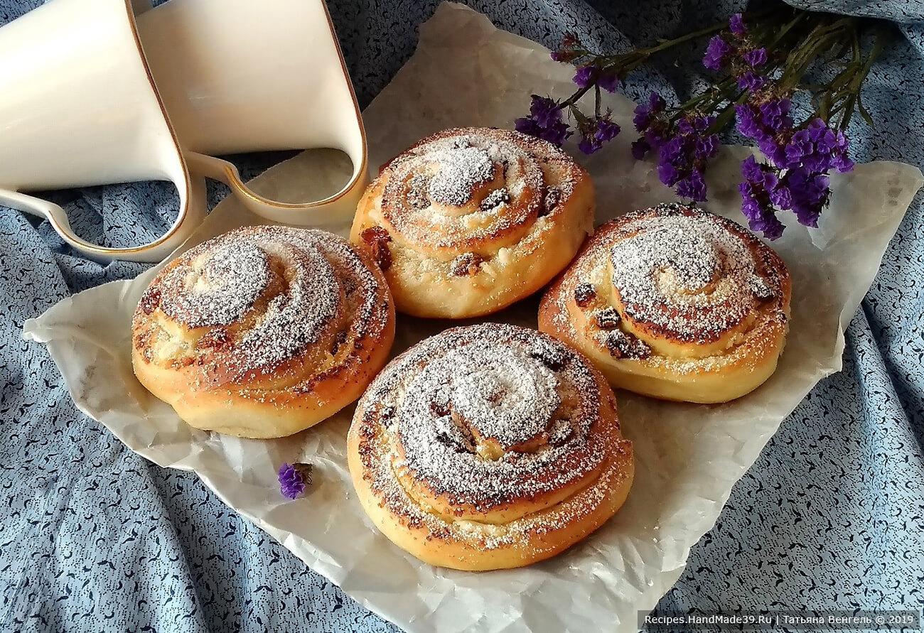 Булочки с творогом – пошаговый кулинарный рецепт с фото